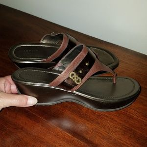Cole Haan Wedge Sandals size 8B